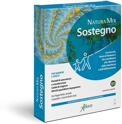 NATURA MIX ADVANCED SOSTEGNO 10 FLACONCINI 150 G - La farmacia digitale
