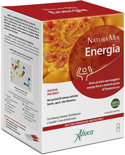 NATURA MIX ADVANCED ENERGIA 20 BUSTINE - Speedyfarma.it