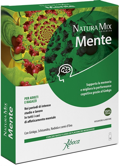 NATURA MIX ADVANCED MENTE 10 FLACONCINI 150 G - Farmacento