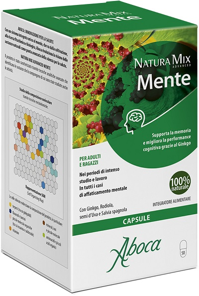 NATURA MIX ADVANCED MENTE 50 OPERCOLI - Farmabros.it
