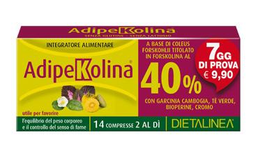 ADIPEKOLINA 7 DAYS 14 COMPRESSE DIETALINEA - Iltuobenessereonline.it