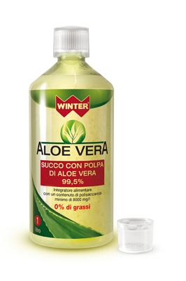 WINTER ALOE VERA SUCCO E POLPA 1 LITRO - Farmacia Centrale Dr. Monteleone Adriano