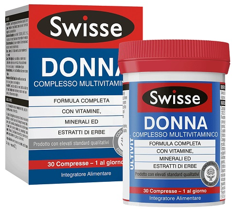 SWISSE MULTIVITAMINICO DONNA 30 COMPRESSE - FARMAPRIME