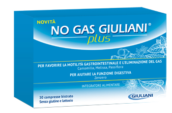 NO GAS GIULIANI PLUS 30 COMPRESSE BISTRATO - Farmajoy