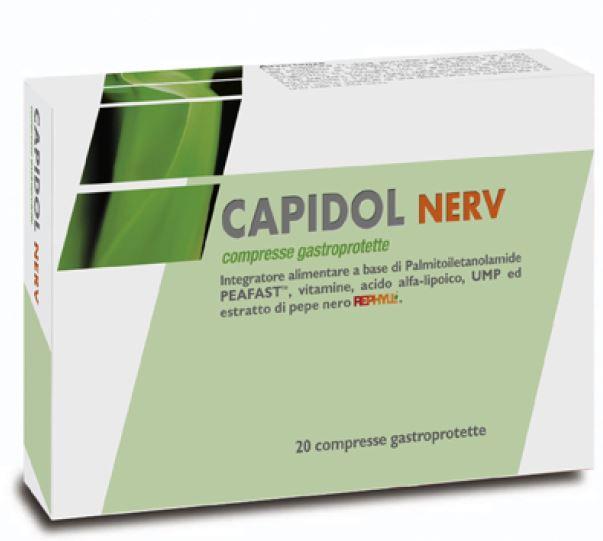 CAPIDOL NERV 20 COMPRESSE GASTROPROTETTE - farmasorriso.com