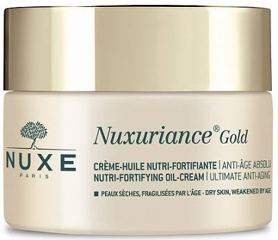 NUXE NUXURIANCE GOLD CREMA OLIO NUTRIENTE FORTIFICANTE 50 ML - Farmacia Basso