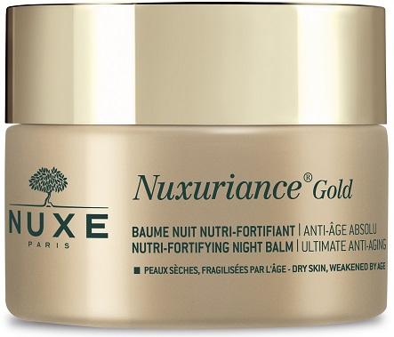 NUXE NUXURIANCE GOLD BALSAMO NOTTE NUTRIENTE FORTIFICANTE 50 ML - Farmacia Basso