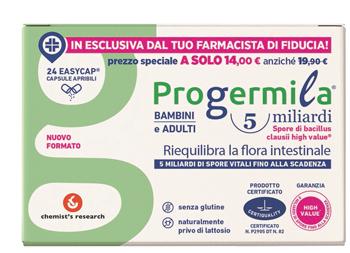 PROGERMILA CAPSULE 5 MILIARDI ADULTI BAMBINI - Farmabros.it