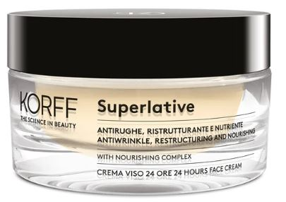 KORFF SUPERLATIVE CREMA GIORNO ANTIRUGHE 24H 50 ML - Farmacia Bartoli