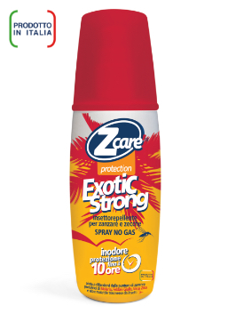ZCARE PROTECTION EXOTIC STRONG DEET SPRAY 50% 100 ML - La farmacia digitale