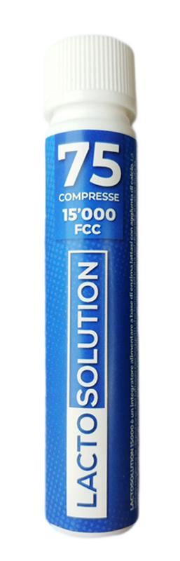 LACTOSOLUTION 15000 75 COMPRESSE - Farmaseller