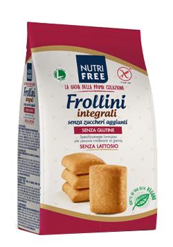NUTRIFREE FROLLINI INTEGRALI SENZA ZUCCHERI AGGIUNTI 250 G - farmasorriso.com