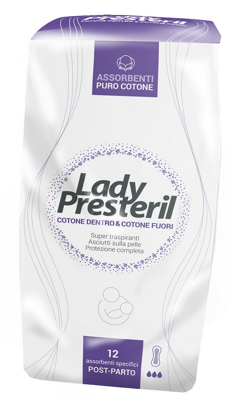 LADY PRESTERIL POSTPARTO 12 PEZZI - Farmawing