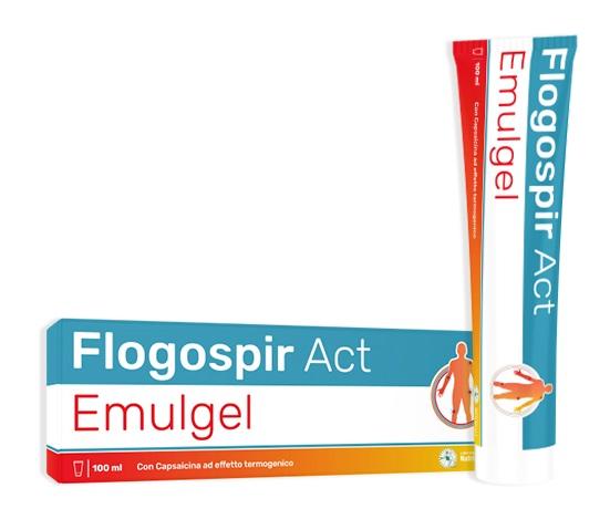 FLOGOSPIR ACT EMULGEL 100 ML - Farmaseller