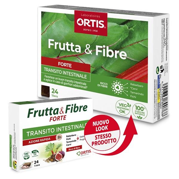 FRUTTA & FIBRE FORTE 24 CUBETTI - Farmalke.it