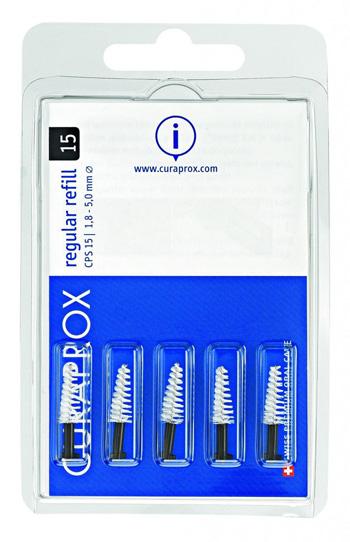 CURAPROX CPS 15 REGULAR NERO SCOVOLINO CONICO - Farmacia Giotti