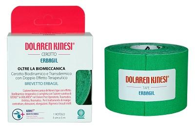 DOLAREN KINESI EMULGEL VERDE 20 STRIPS - Farmaseller