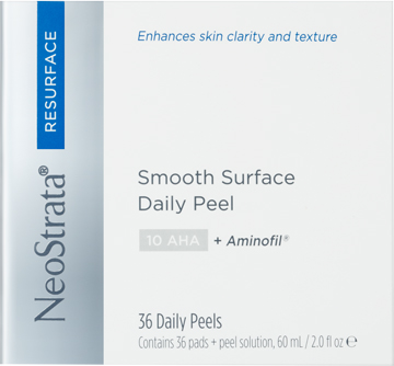 NeoStrata Resurface Smooth Surface Daily Peel Flacone 60 ml + 36 Dischetti