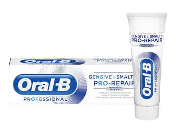 ORAL-B GENGIVE E SMALTO PRO REPAIR WHITE DENTIFRICIO 85 ML (scade 02/2021) -