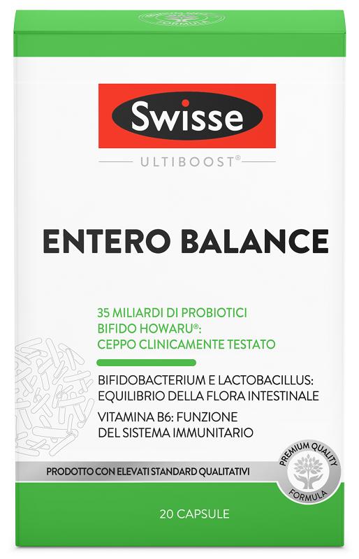 SWISSE ULTIBOOST ENTERO BALANCE 20 CAPSULE - FARMAPRIME