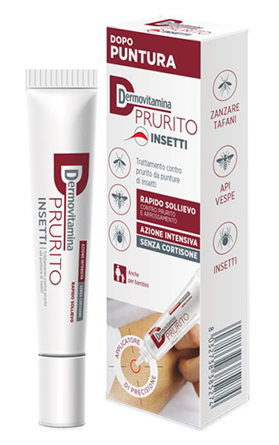 DERMOVITAMINA PRURITO INSETTI 15 ML - Farmastar.it