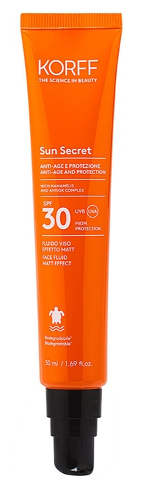 SUN SECRET FLUIDO VISO EFFETTO MATT SFP 30 - Farmacia Bartoli
