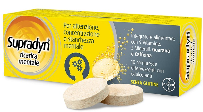 SUPRADYN RICARICA MENTALE 10 COMPRESSE - Farmabros.it