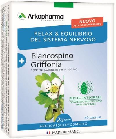 ARKO CAPSULE COMPLEX RELAX 40 CAPSULE - Farmacia Centrale Dr. Monteleone Adriano