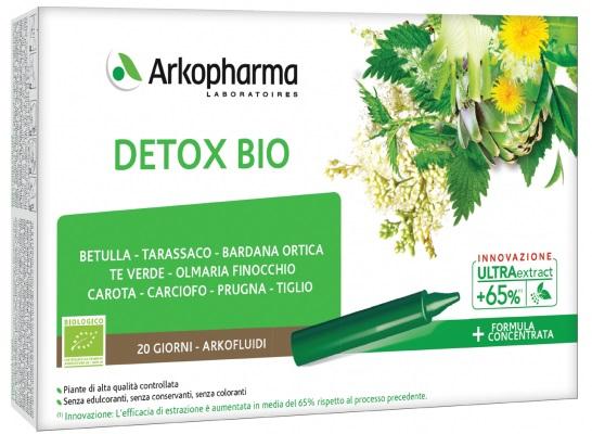 ARKOFLUIDI ULTRA SUONI DETOX BIO 20 FIALE - Farmacia Centrale Dr. Monteleone Adriano
