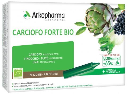 ARKOFLUIDI ULTRA SUONI CARCIOFO FORTE BIO 20 FIALE - Farmacia Centrale Dr. Monteleone Adriano