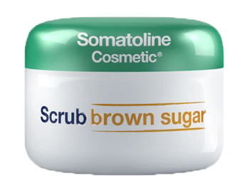 SOMATOLINE COSMETIC SCRUB BROWN SUGAR 350 G - La farmacia digitale