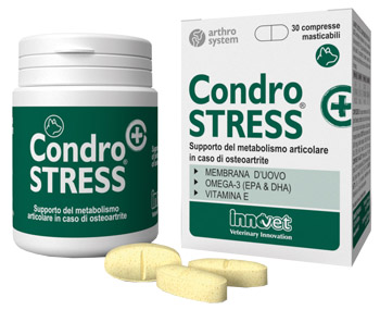 CONDROSTRESS + 30 COMPRESSE MASTICABILI - Spacefarma.it