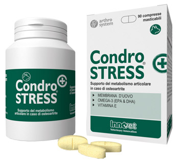 CONDROSTRESS + 90 COMPRESSE MASTICABILI - Farmapc.it