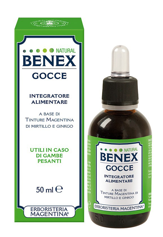 BENEX GOCCE NATURAL 50 ML - Farmaseller