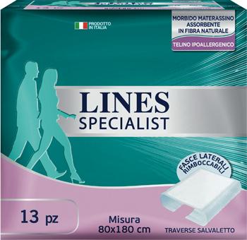 LINES SPECIALIST TRAVERSA 80X180 13 PEZZI FARMA - Farmaseller