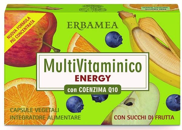 MULTIVITAMINICO ENERGIA CON COENZIMA Q10 24 COMPRESSE - Farmaseller