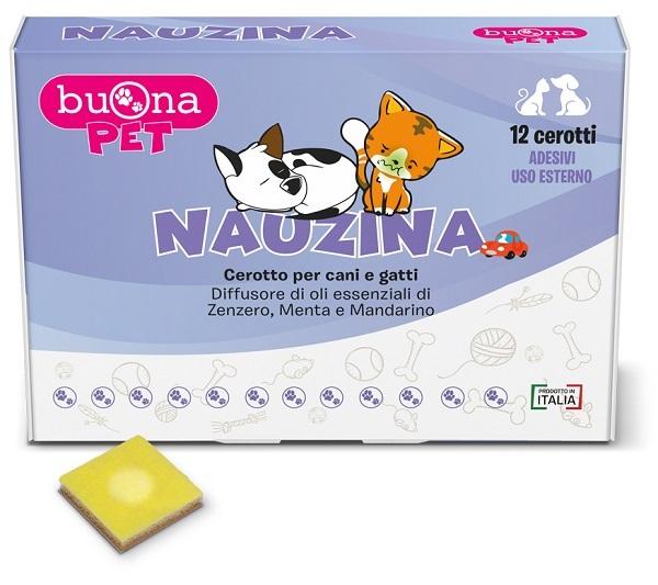 BUONAPET NAUZINA 12 CEROTTI DIFFUSORI - Farmaseller