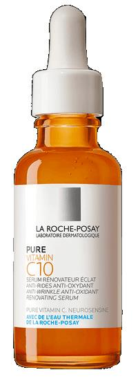 LA ROCHE POSAY PURE VITAMIN C10 SIERO VISO ANTIRUGHE ANTIOSSIDANTE 30 ML - Farmastar.it