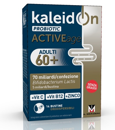 KALEIDON PROBIOTIC ACTIVE AGE 14 BUSTINE - Farmabenni.it