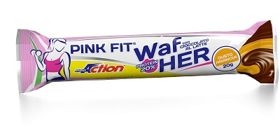 PROACTION PINK FIT PROTEIN WAFER ARANCIA 20 G - Farmacia Giotti