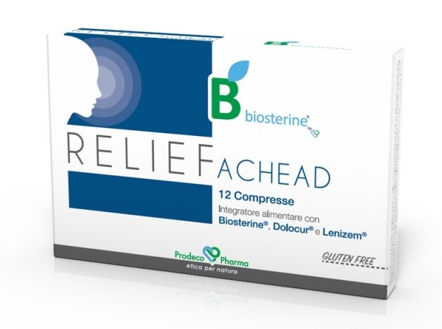 BIOSTERINE RELIEF ACHEAD 12 COMPRESSE - Farmacia33