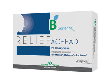 BIOSTERINE RELIEF ACHEAD 24 COMPRESSE - Farmastar.it