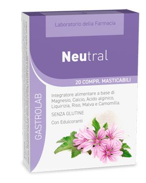 LDF NEUTRAL 20 COMPRESSE MASTICABILI - Farmapage.it
