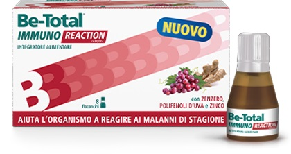 BETOTAL IMMUNO REACTION 8 FLACONCINI - farmaventura.it