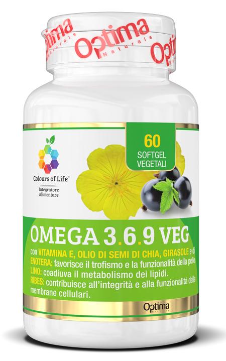 COLOURS OF LIFE OMEGA 3-6-9 VEG 60 SOFT GEL - Farmaseller