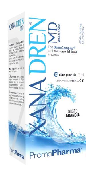 XANADREN MD ARANCIA 10 STICK PACK X 15 ML - Spacefarma.it