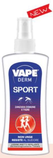 VAPE DERM SPORT LOZIONE 100 ML - La farmacia digitale