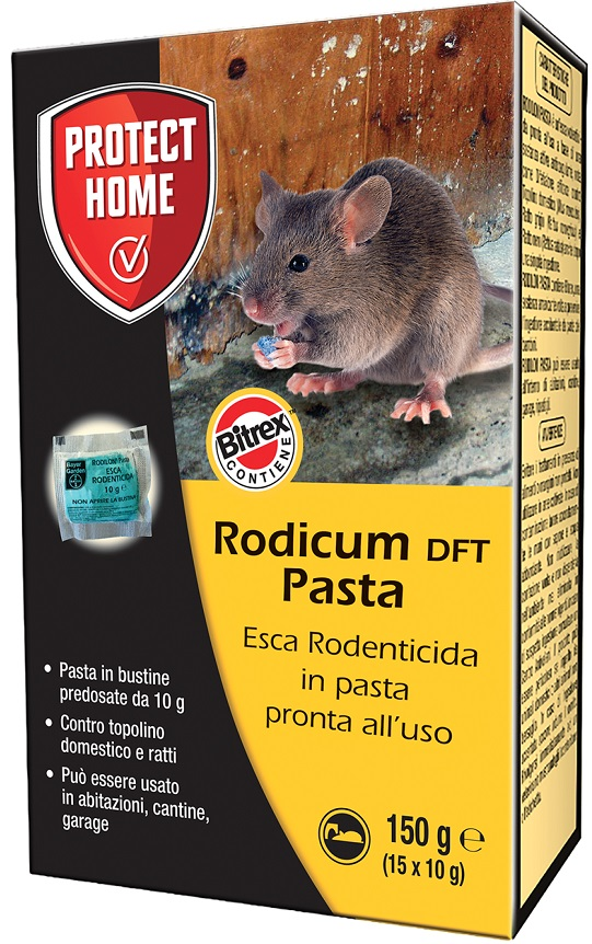 RODICUM ESCA RODENTICIDA IN PASTA 150 G - Farmastar.it