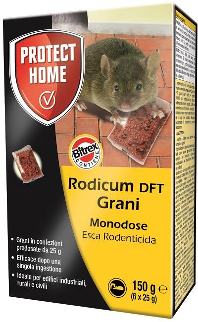 RODICUM ESCA RODENTICIDA IN GRANI 150 G - Farmaseller