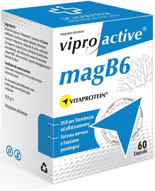 VIPROACTIVE MAGB6 60 CAPSULE - farmaventura.it